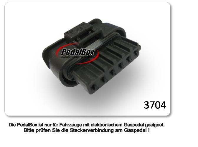 Dte Syst 232 Me Pedal Box 3s Pour Mercedes Benz Viano Vito 639