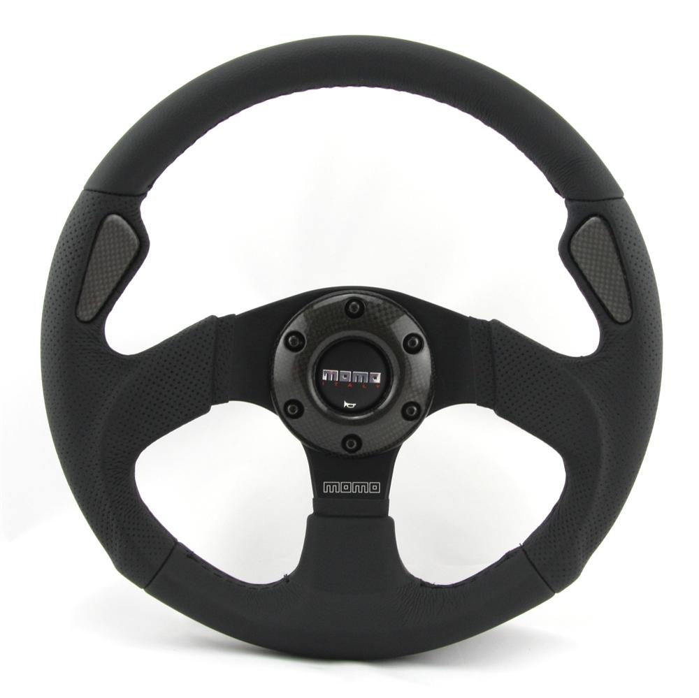 momo lenkrad jet 32cm schwarz mit abe steering wheel. Black Bedroom Furniture Sets. Home Design Ideas