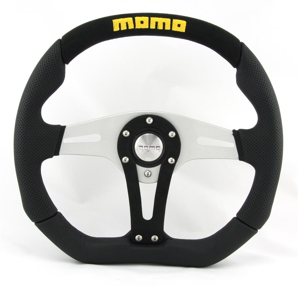 momo lenkrad trek alcantara 35cm schwarz mit abe steering. Black Bedroom Furniture Sets. Home Design Ideas