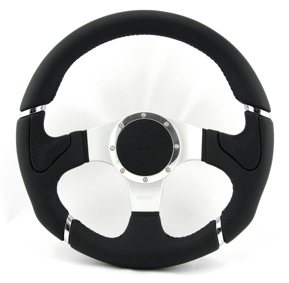 momo lenkrad millenium 32cm schwarz mit abe steering wheel. Black Bedroom Furniture Sets. Home Design Ideas