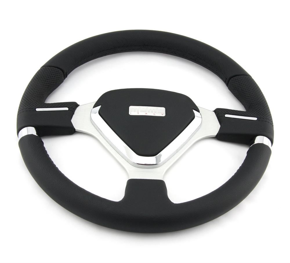 momo lenkrad millenium evo 35cm schwarz steering wheel volante. Black Bedroom Furniture Sets. Home Design Ideas