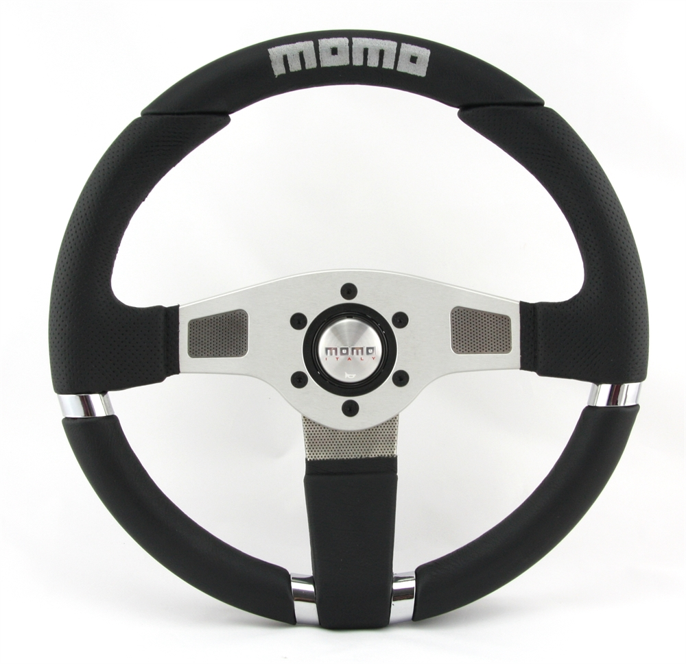 momo volante net 35cm negro steering wheel volante ebay. Black Bedroom Furniture Sets. Home Design Ideas