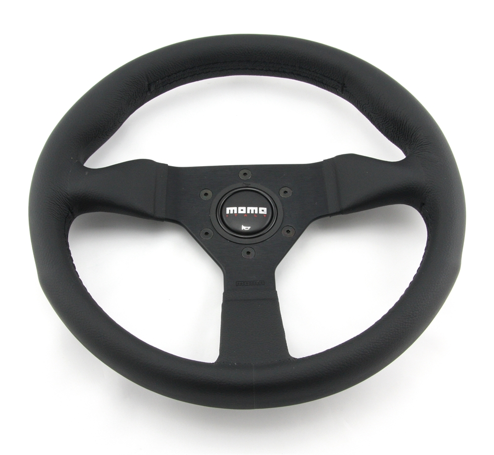 momo lenkrad montecarlo 32cm schwarz steering wheel. Black Bedroom Furniture Sets. Home Design Ideas