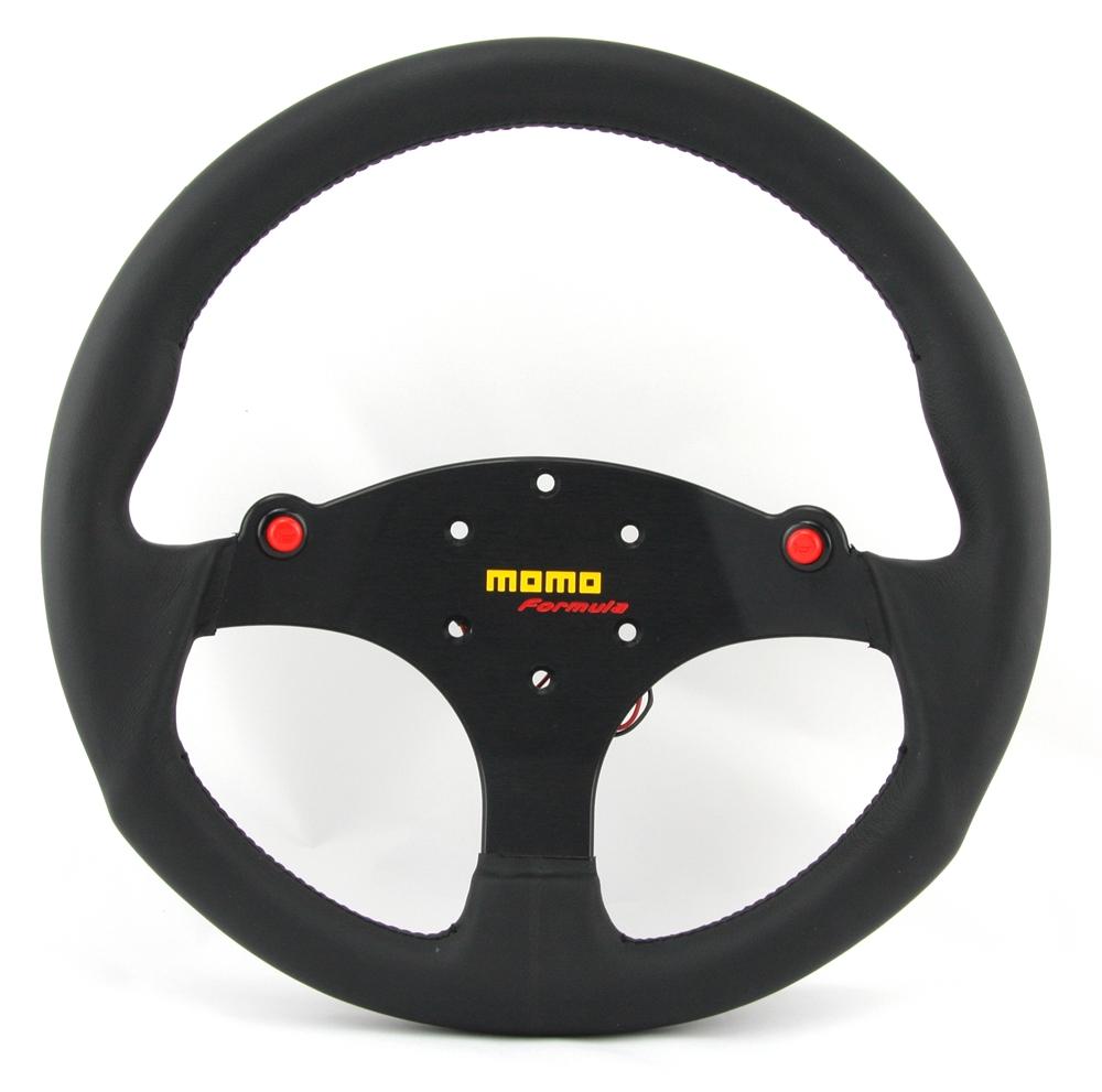 momo lenkrad formula 35cm schwarz steering wheel volante. Black Bedroom Furniture Sets. Home Design Ideas