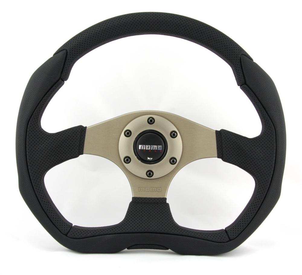 momo lenkrad eagle 35cm schwarz steering in moers kaufen. Black Bedroom Furniture Sets. Home Design Ideas