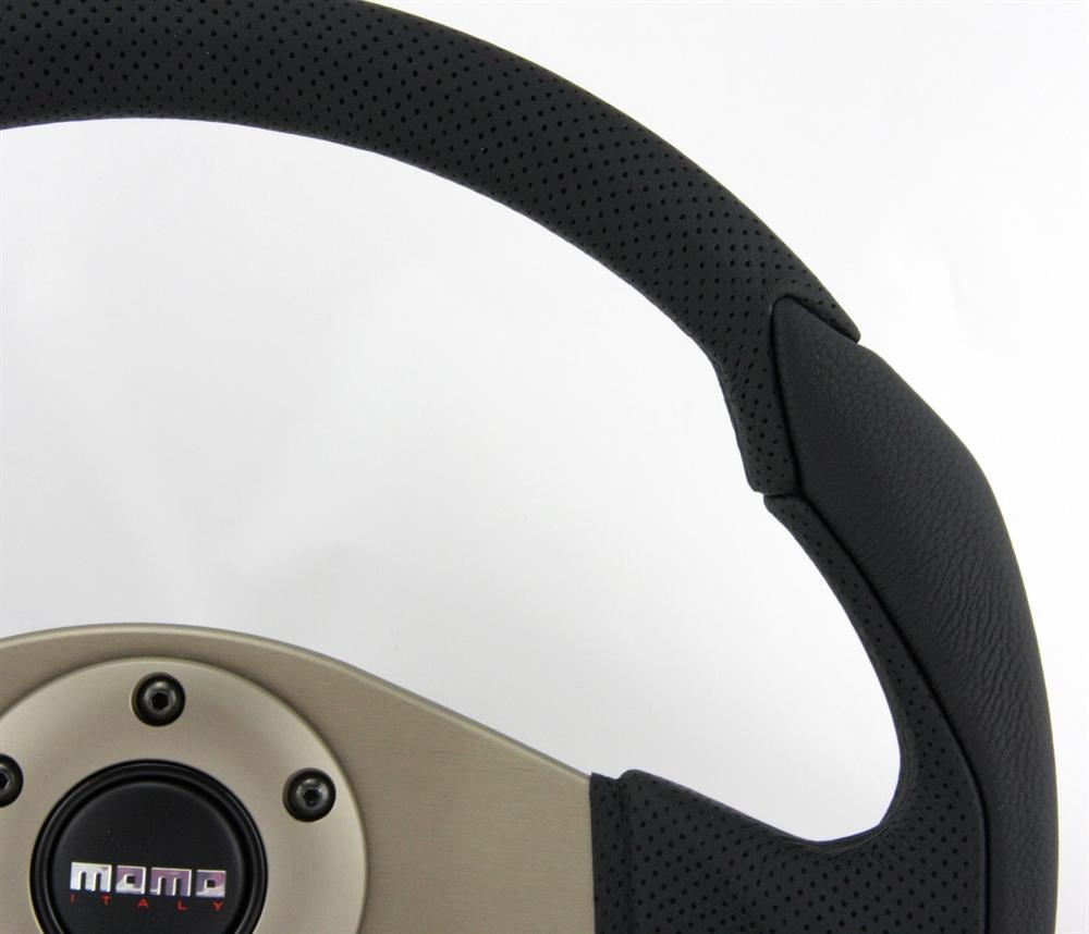 volante momo eagle 35cm nero steering wheel volante ebay. Black Bedroom Furniture Sets. Home Design Ideas