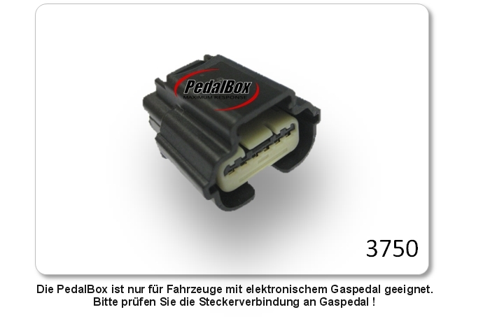 DTE PedalBox 3S für JEEP WRANGLER JK 130KW 04 2007-2.8 CRD Tuning Gaspedalbox