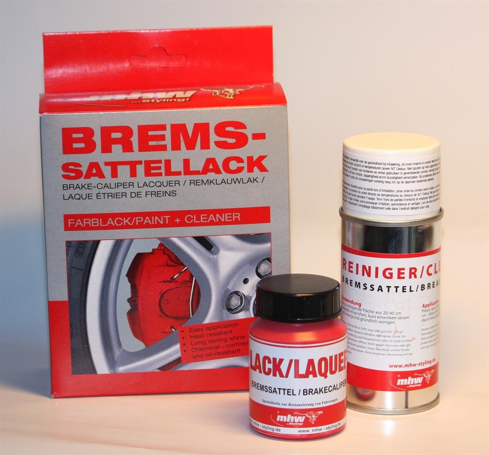 bms racing autotuning mhw bremssattellack set schwarz. Black Bedroom Furniture Sets. Home Design Ideas