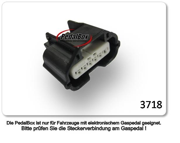 DTE Systems PedalBox Plus für SMART FORFOUR 453 52KW 07 2014-1.0 453.042  ...