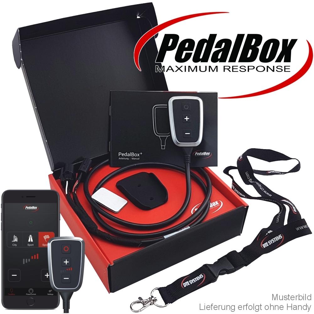 Gaspedaltuning von DTE-Systems mit App PedalBox