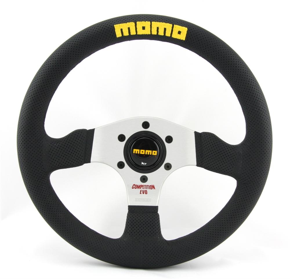 BMS Racing Autotuning - Momo Leder gelocht Sportlenkrad Competition ...