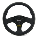 Momo Leder Sportlenkrad Team 28 280mm schwarz black steering wheel volante